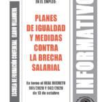 Boletín 165: Desarrollo reglamentario del principio de igualdad en el empleo: planes de igualdad y medidas contra la brecha salarial