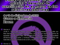 «Planes de igualdad, brecha salarial y derechos de conciliación en el marco de las relaciones laborales»