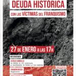 Memoria Histórica: Deuda histórica con las víctimas del Franquismo