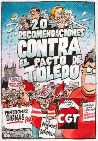 20 recomendaciones frente al Pacto de Toledo