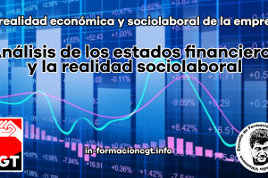 La realidad económica y sociolaboral de la empresa: Análisis de los estados financieros y la realidad sociolaboral