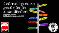Notas de prensa y estrategia comunicativa